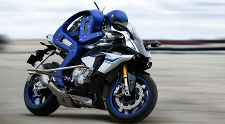 Yamaha MotoBot Concept - liputan6