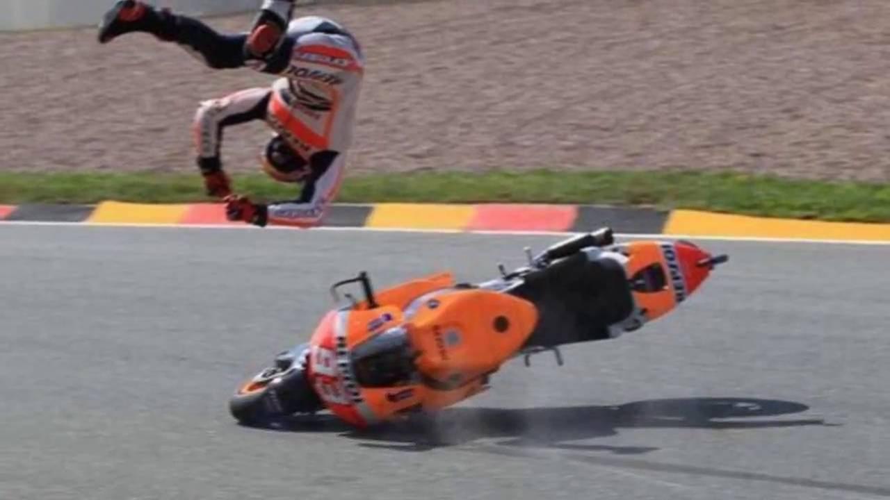 Tips Belajar Teknik Jatuh ala Pembalap MotoGP
