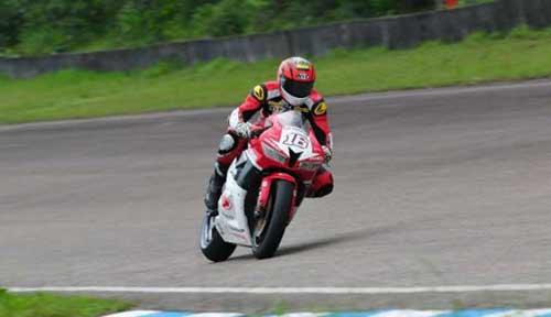 Pembalap muda Astra Honda Racing Team, Gerry Salim - Ist