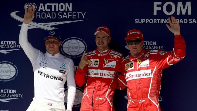 DuoFerrari Rebut Pole di Kualifikasi GP Hongaria