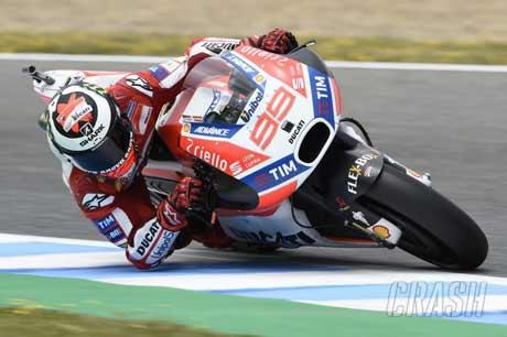 Jorge Lorenzo - Crash.net