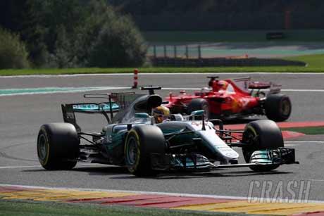 Gara-Gara 'Salah Pencet' Hamilton Bisa Gagalkan Vettel Juarai F1 Belgia