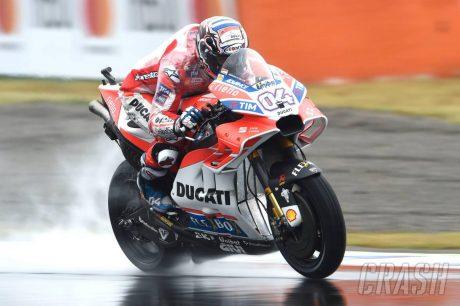Andrea Dovizioso MotoGP Jepang 2017 - crash