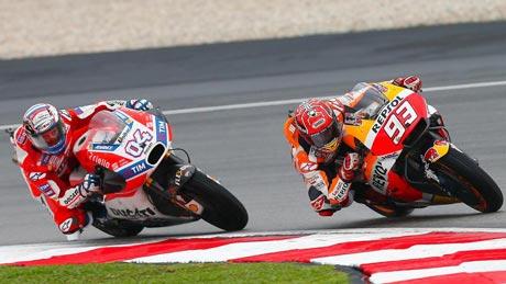 Dovizioso - Marquez (MotoGP Doc)
