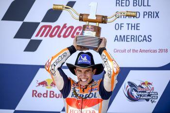 Meskipun Dihukum Pinalti, Marquez Masih Tercepat di GP Amerika