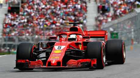 Hasil F1 GP Kanada, Ferari Tak Terbendung