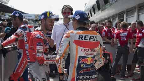 Dovizioso: Mustahil Kejar Poin Marquez