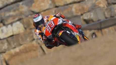 Marquez Ambil Alih Latihan Bebas Kedua MotoGP Aragon
