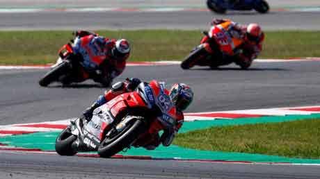 Dovizioso Bakalan Duel Ketat dengan Lorenzo dan Asapi Marquez di MotoGP Aragon