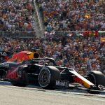 Max Verstappen juara F1 GP AS 2021. (Foto: AP/Eric Gay)