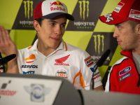 Tidak Berpeluang Juara, Rossi Sebut Duel Marquez-Dovi Sengit