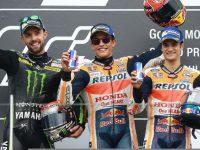 Buntuti Marquez,Jonas Folger Hampir Juara di MotoGP Jerman 2017